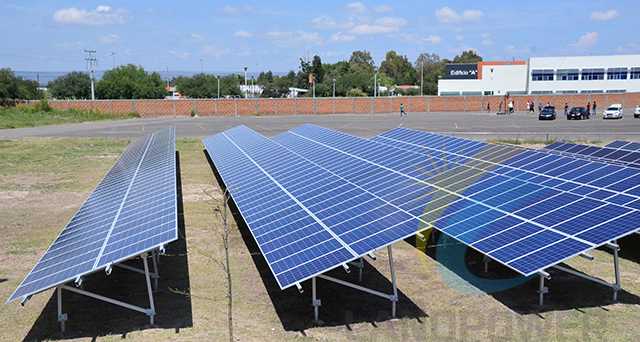 Aluminum Solar Ground Mounting Systems_Ground Mounting