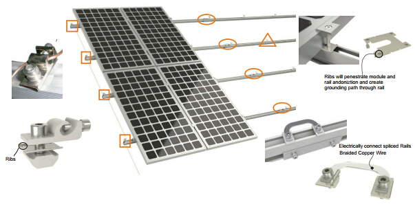 Solar Panel Pitched Roof Mounting System Solar Mounting