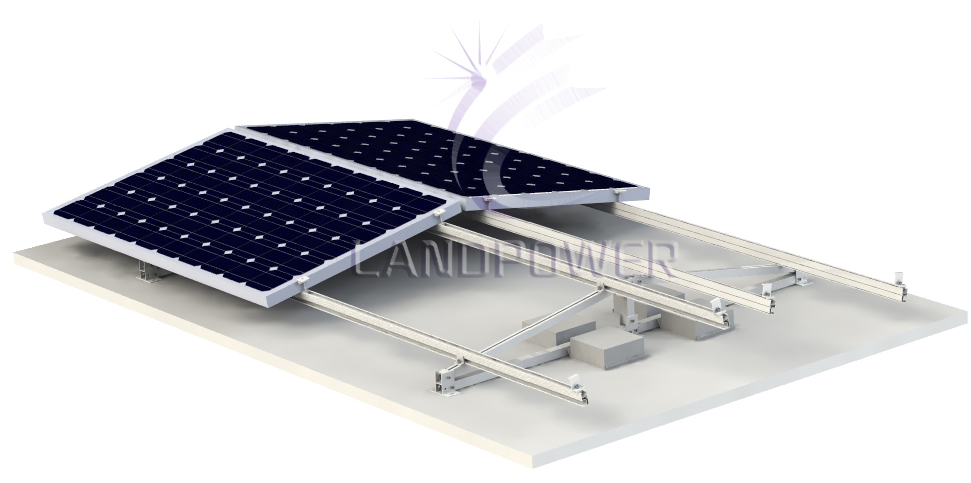 Flat Roof Mounting System Solar Mounting Systems Solar