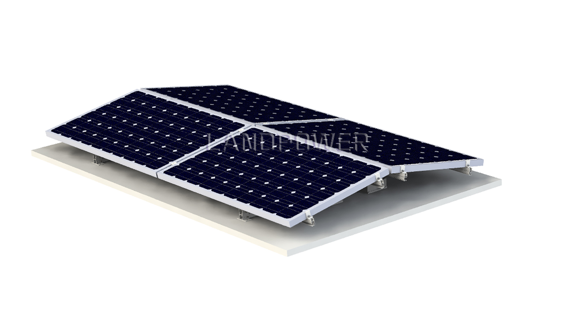 Flat Roof Mounting System Solar Mounting Systems Solar Racking Leading Manufacturer